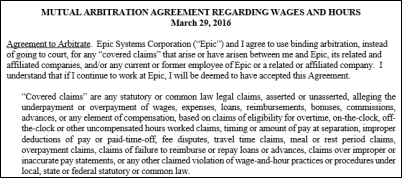 Image result for epic arbitration